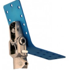 Modular single-axis Hip-Joint with tube-clamp-adapter 30 mm